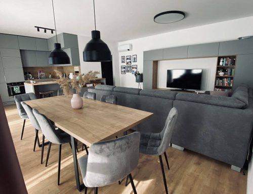 Moderná kuchyňa s obývačkou. To je pohoda (nielen) pri varení!